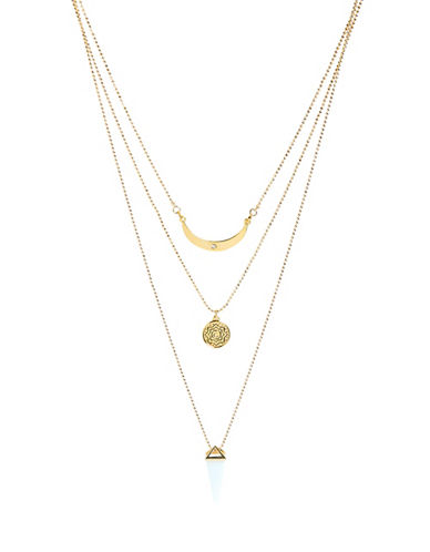 Foxy Originals Prospect Layered Necklace-GOLD-One Size