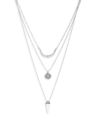 Foxy Originals Prospect Layered Necklace-SILVER-One Size