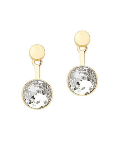 Foxy Originals 14K Goldplated Orb Ear Jackets-GOLD-One Size