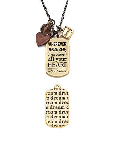 Foxy Originals Dream Mantra Necklace-MIXED-One Size