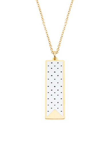 Foxy Originals Dotty Pendant Necklace-GOLD-One Size