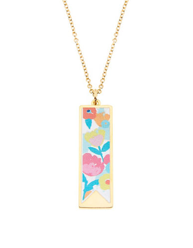 Foxy Originals Fleur Charm Necklace-GOLD-One Size