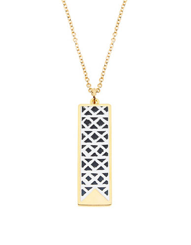 Foxy Originals Ikat Charm Necklace-GOLD-One Size