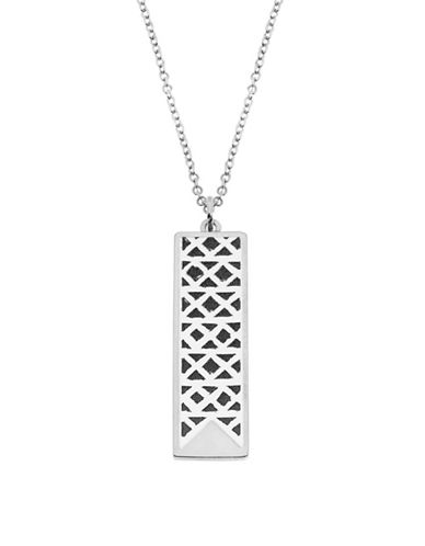 Foxy Originals Ikat Charm Necklace-SILVER-One Size