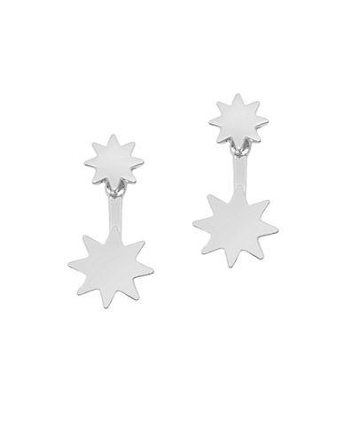 Foxy Originals Cayman Jacket Earrings-SILVER-One Size