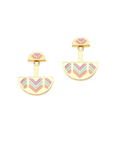 Foxy Originals Dominica Jacket Earrings-GOLD-One Size
