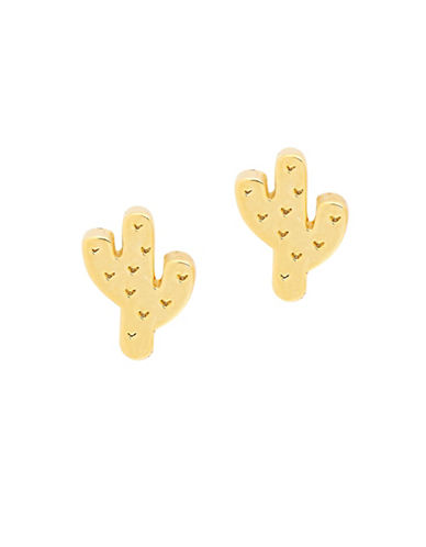 Foxy Originals POP Cactus Stud Earrings-GOLD-One Size