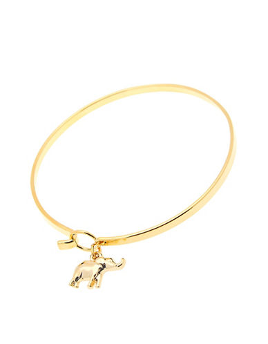Foxy Originals POP Paradise Elephant Charm Bangle-GOLD-One Size