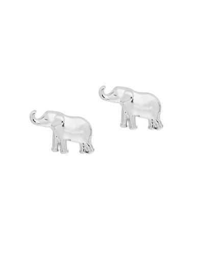 Foxy Originals POP Paradise Elephant Stud Earrings-SILVER-One Size
