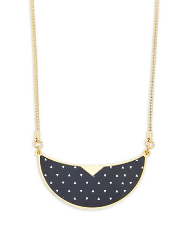 Foxy Originals Monroe Bib Goldplated Necklace-GOLD-One Size