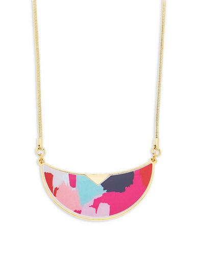 Foxy Originals Warhol Bib Goldplated Necklace-GOLD-One Size