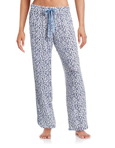 Nautica Floral Pajama Pants-BLUE-Small 88370239_BLUE_Small