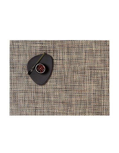 Chilewich Basketweave Vinyl Placemat-BARK-One Size