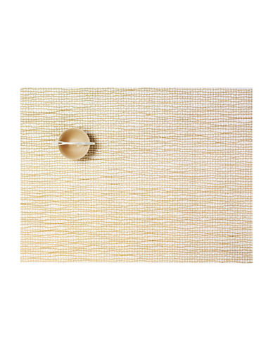 Chilewich Lattice Placemat-GOLD-14X19
