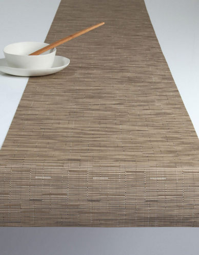 Chilewich Bamboo Runner-BEIGE-One Size