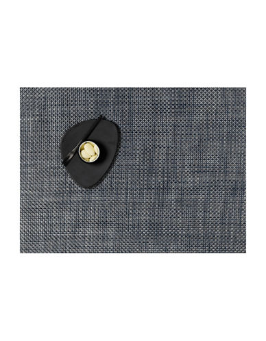 Chilewich Basketweave Placemat-BLUE-14X19