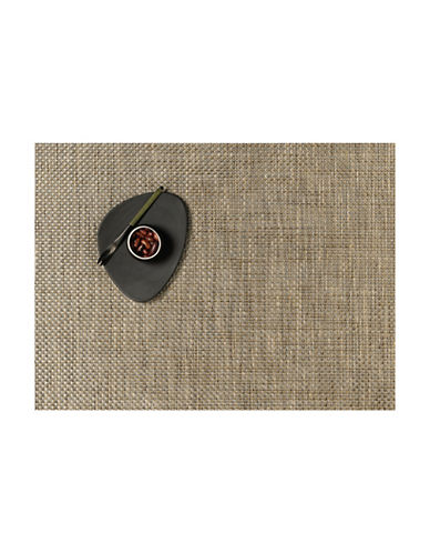 Chilewich Basketweave Vinyl Placemat-LATTE-One Size