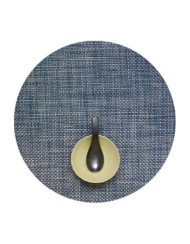 Chilewich Basketweave Placemat-DENIM-One Size