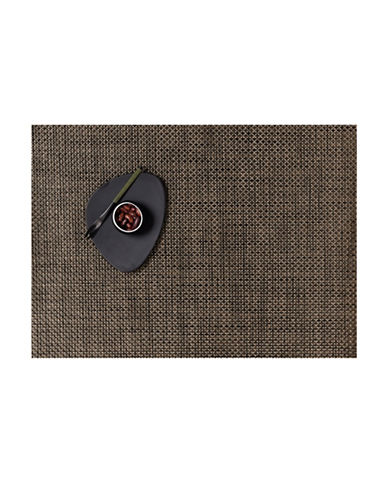 Chilewich Basketweave Vinyl Placemat-EARTH-One Size