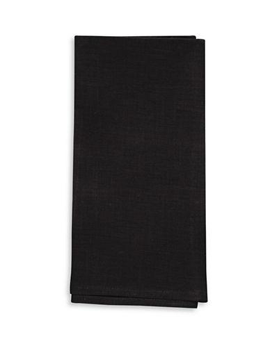 Chilewich Linen Napkin-BLACK-21