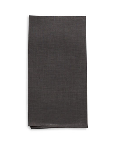 Chilewich Linen Napkin-SMOKE-21
