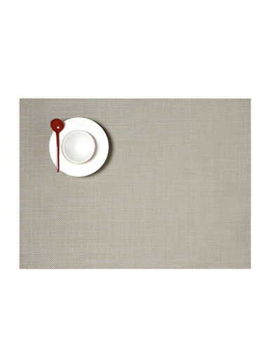 Chilewich Mini-Basketweave Vinyl Placemat-ALOE-One Size