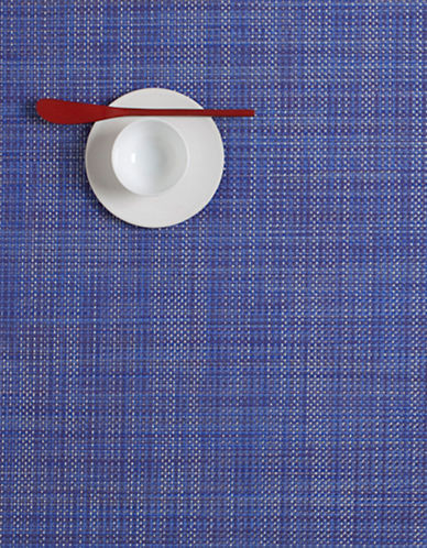 Chilewich Mini Basketweave Tablemat-BLUE-One Size