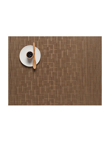 Chilewich Bamboo-Look Placemat-AMBER-One Size