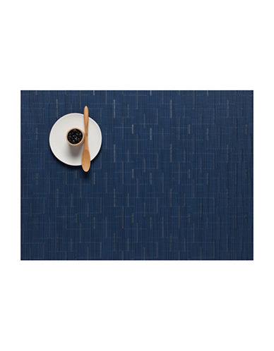 Chilewich Bamboo-Look Placemat-BLUE-One Size