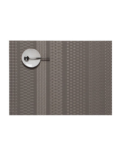 Chilewich Mixed Weave Luxe Gold Placemat-TOPAZ-14X19