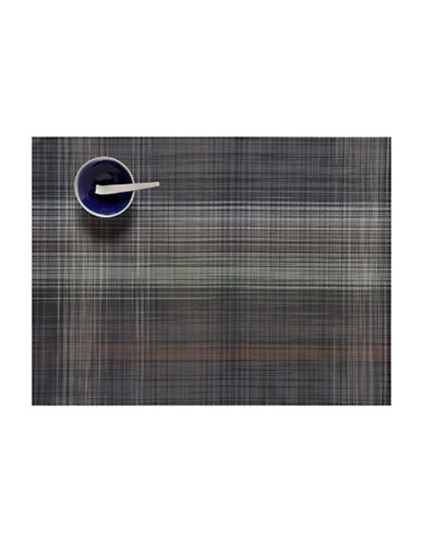 Chilewich Plaid Placemat-GREY-14X19
