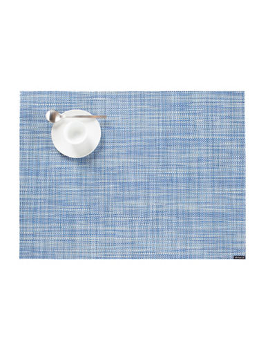 Chilewich Mini-Basketweave Vinyl Placemat-CHAMBRAY-One Size