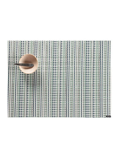 Chilewich Grid Vinyl Placemat-GREEN-One Size