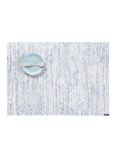 Chilewich Mosaic Vinyl Placemat-BLUE-One Size