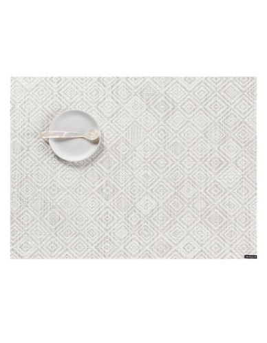 Chilewich Mosaic Table Mat-GREY-One Size