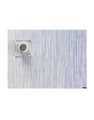 Chilewich Wave Vinyl Placemat-BLUE-One Size