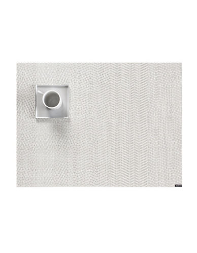 Chilewich Wave Vinyl Placemat-GREY-One Size