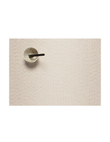 Chilewich Jewel Vinyl Placemat-WHITE-One Size