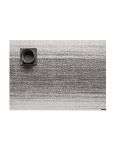 Chilewich Ombre Vinyl Placemat-SILVER-One Size