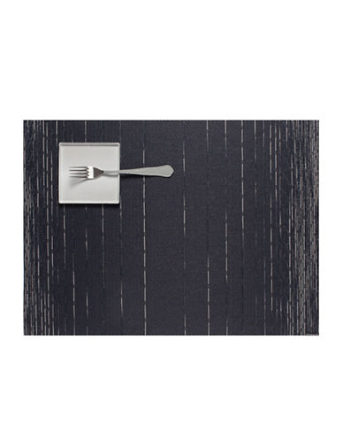 Chilewich Dash Vinyl Placemat-INDIGO-One Size
