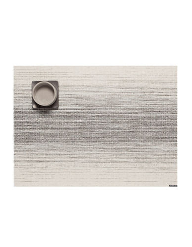 Chilewich Ombre Vinyl Placemat-NATURAL-One Size
