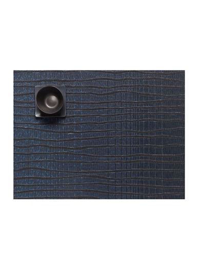 Chilewich Current Vinyl Placemat-BLUE-One Size