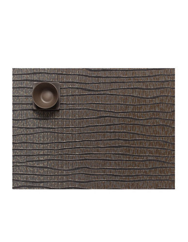 Chilewich Current Vinyl Placemat-BROWN-One Size
