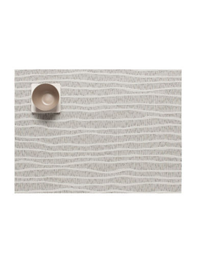 Chilewich Current Vinyl Placemat-GREY-One Size