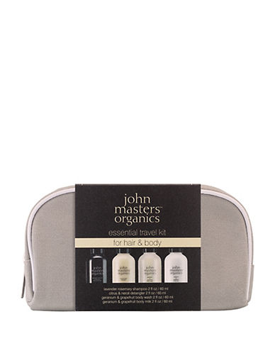 John Masters Four-Piece Essential Travel Set For Hair and Body-NO COLOR-One Size