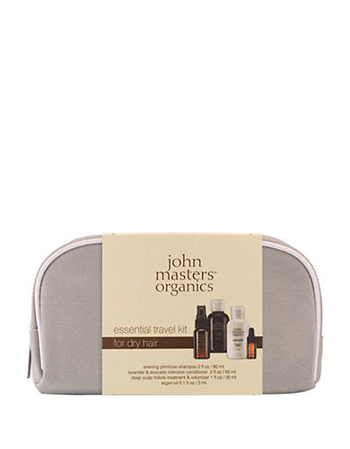 John Masters Four-Piece Essential Travel Set For Dry Hair-NO COLOR-One Size