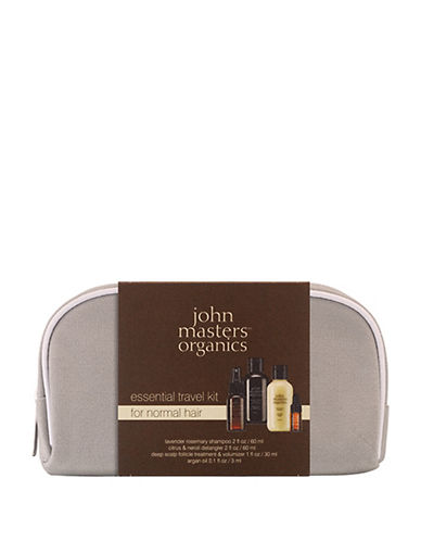 John Masters Four-Piece Essential Travel Set For Normal Hair-NO COLOR-One Size