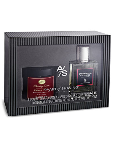 The Art Of Shaving Sandalwood and Cypress Fragrance Two-Piece Set-NO COLOR-0