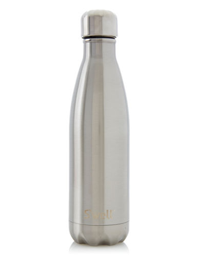 SWell Shimmer Insulated Water Bottle-SILVER LINING-500 ml