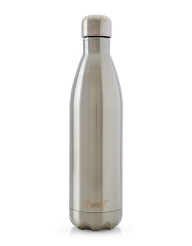 SWell Silver Lining Stainless Steel Bottle-SILVER-One Size